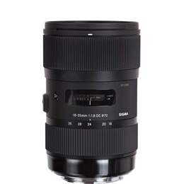 SIGMA  18-35mm f/1.8 DC HSM Standard Zoom Lens - for Canon Reviews