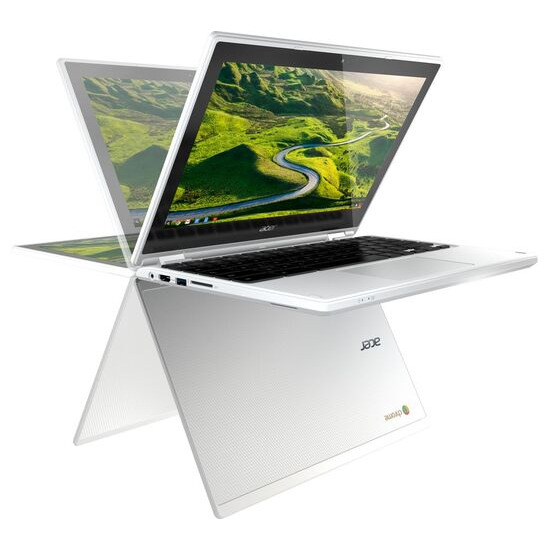 "Acer Chromebook R 11 CB5 11.6"" Intel Celeron 2 in 1 - 32 GB eMMC, White"