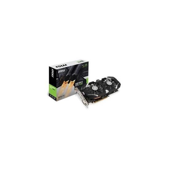 MSI Nvidia GeForce GTX 1060 6GB GDDR5 PCI-E Graphics Card