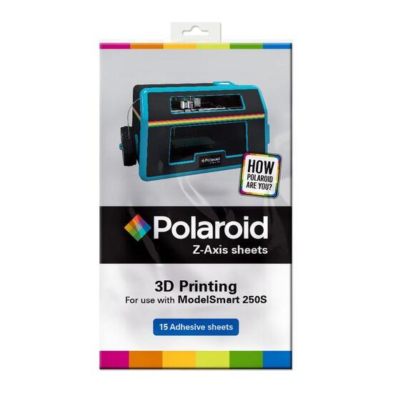 POLAROID  Z-Axis 3D Printing Adhesive Sheets - Pack of 15