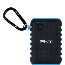 PNY  Outdoor Charger 7800 mAh Portable Power Bank - Black & Blue Reviews