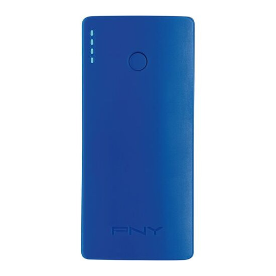 PNY  Curve 5200 Portable Power Bank - Blue