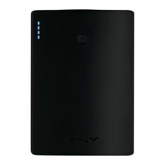 PNY  Curve 10400 Portable Power Bank - Black