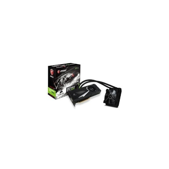 MSI Nvidia GeForce GTX 1080 Sea Hawk X GDDR5 PCI-E Graphics Card