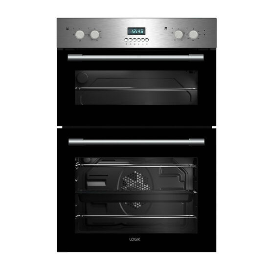 LOGIK LBIDOX16 Electric Double Oven Stainless Steel