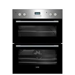 LOGIK LBUDOX16 Electric Built under Double Oven Stainless Steel Reviews