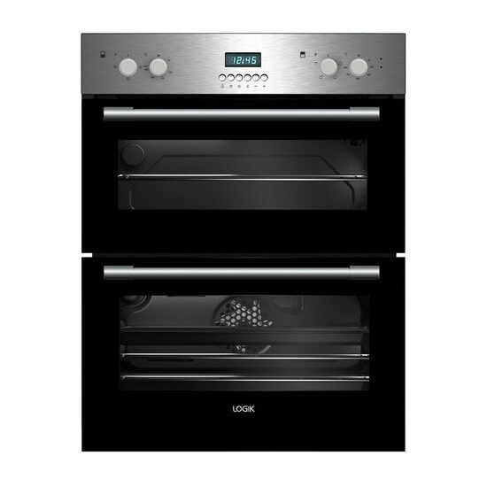 LOGIK LBUDOX16 Electric Built under Double Oven Stainless Steel