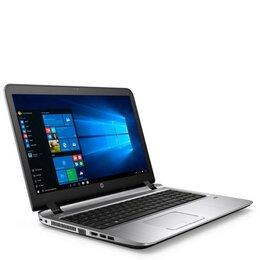HP ProBook 450 G3 Laptop Intel Core i3-6100U 2.3GHz 4GB DDR4 500GB HDD 15.6 LED DVDRW Intel HD WIFI Webcam Bluetooth Windows 7 / 10 Professional