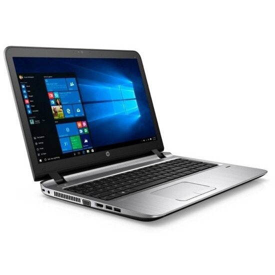 HP ProBook 450 G3 Laptop Intel Core i3-6100U 2.3GHz 4GB DDR4 500GB HDD 15.6 LED DVDRW Intel HD WIFI Webcam Bluetooth Windows 7 / 10 Professional