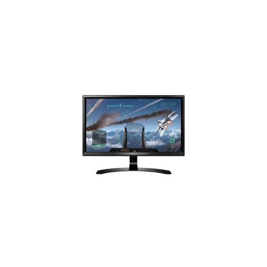 LG 24UD58 24 IPS 4K 3840x2160 16_9 5ms HDMI DVI Monitor