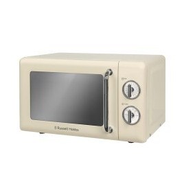 Russell Hobbs RHRETMM705C Retro 17 Litre Cream Manual Microwave Reviews