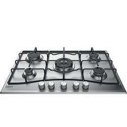 HOTPOINT  PCN 752 U/IX/H Gas Hob - Stainless Steel Reviews