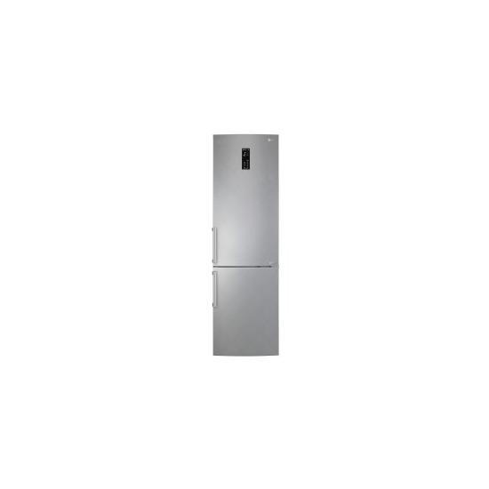LG GBB60SAFFB Freestanding Fridge Freezer - Silver