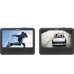LOGIK  L7DUAMM16 Dual Screen Portable DVD Player Reviews