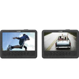LOGIK  L7DUAMM16 Dual Screen Portable DVD Player Reviews