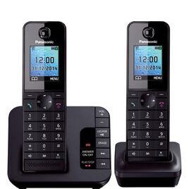 Panasonic  KX-TG8182EB Cordless Phone with Answering Machine - Twin Handsets Reviews