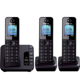 Panasonic  KX-TG8183EB Cordless Phone with Answering Machine - Triple Handsets Reviews
