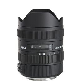 SIGMA 8-16 mm f/4.5-5.6 CD HSM Wide-angle Zoom Lens - for Canon Reviews