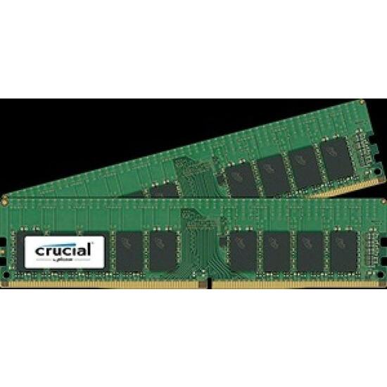 Crucial 32GB Kit (2 x 16GB) DDR4-2133 ECC UDIMM CT2K16G4WFD8213