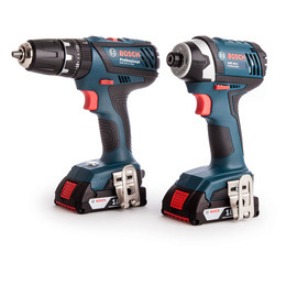 Bosch GSB 18-2-Li Plus + GDR 18-Li 18V Reviews