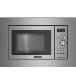 BAUMATIC  BMIS3820 Built-in Solo Microwave - Stainless Steel Reviews
