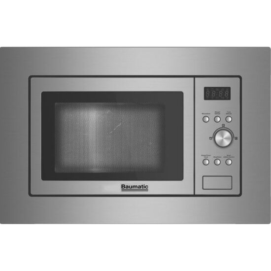 BAUMATIC  BMIS3820 Built-in Solo Microwave - Stainless Steel