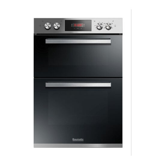 BAUMATIC BODM984X Electric Double Oven Stainless Steel