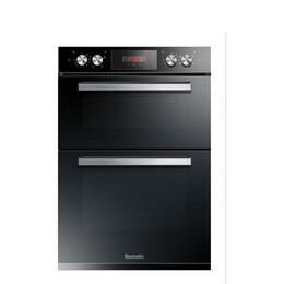 BAUMATIC  BODM984B Electric Double Oven - Black Reviews