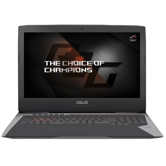 Asus ROG G752VS Gaming Laptop Intel Core i7-6820HK 2.7 GHz 32GB DDR4 1TB HDD 512GB SSD 17.3 FHD DVDRW NVIDIA GTX1070 8GB WIFI Windows 10 Home 64bit