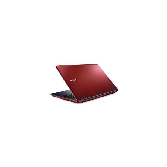 ACER Aspire E5-575 Core i5-6200U 8GB 256GB SSD 15.6 Inch Windows 10 Laptop Red