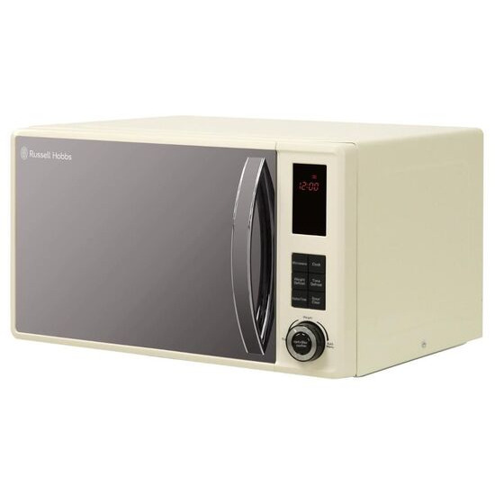 RUSSELL HOBBS  RHM2382CNS Solo Microwave - Cream