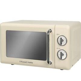 RUSSELL HOBBS  RHRETMM705C Solo Microwave - Cream Reviews
