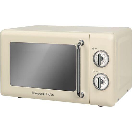 RUSSELL HOBBS  RHRETMM705C Solo Microwave - Cream