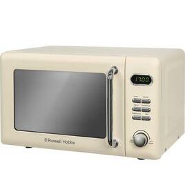 RUSSELL HOBBS  RHRETMD706C Solo Microwave - Cream Reviews