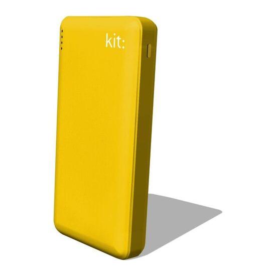 KIT  FRESH Portable Power Bank - Yellow