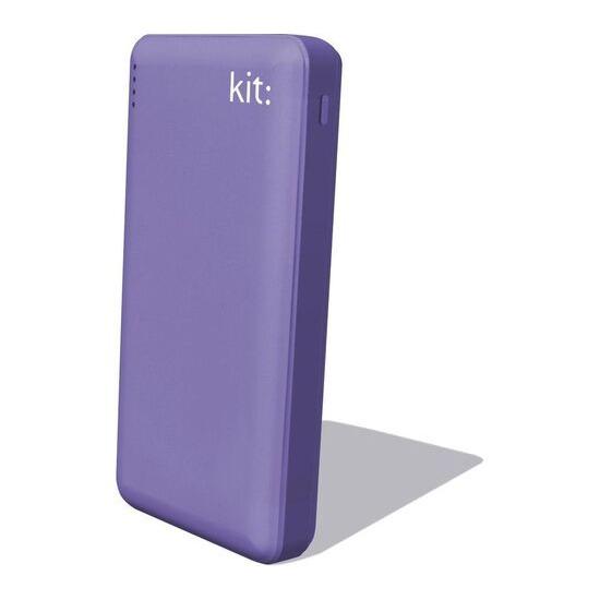 KIT  FRESH Portable Power Bank - Purple
