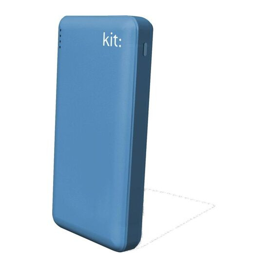 KIT  FRESH Portable Power Bank - Blue