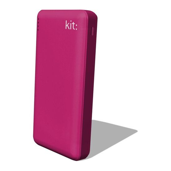 KIT  FRESH Portable Power Bank - Pink
