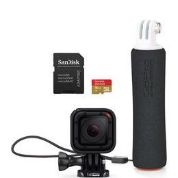 GOPRO  Hero Session Bonus Action Camcorder Bundle - Black Reviews