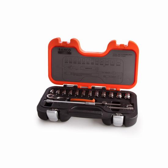 Bahco S160AF 1/4in Socket Set