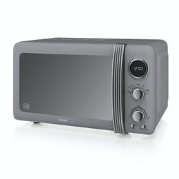 SWAN  Retro SM22030GRN Solo Microwave - Grey Reviews