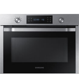 SAMSUNG  NQ50K3130BS/EU Built-in Solo Microwave - Stainless Steel Reviews