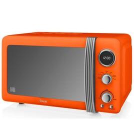 SWAN  Retro SM22030ON Solo Microwave - Orange Reviews