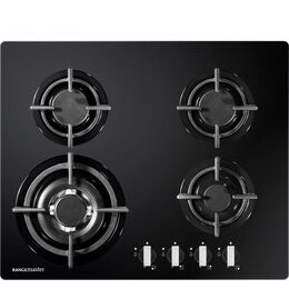 RANGEMASTER RMB60HPNGFGL Gas Hob - Black Reviews