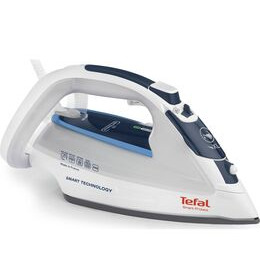 TEFAL  Smart Protect FV4970 Steam Iron - White & Blue Reviews