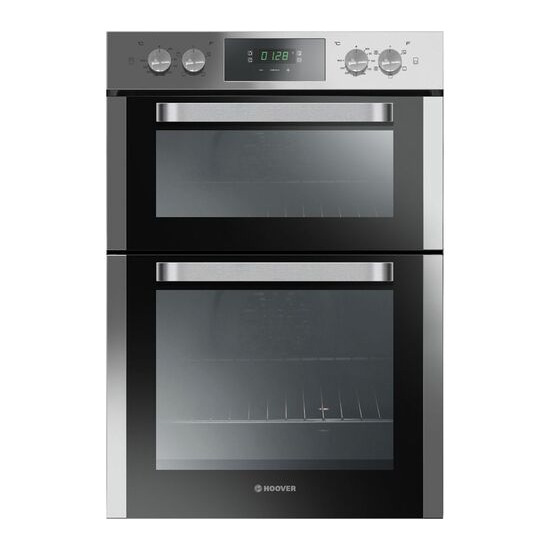 Hoover HO9D337IN Electric Double Oven Stainless Steel