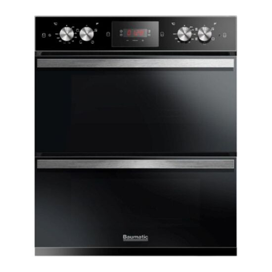 BAUMATIC  BODM754B Electric Double Oven - Black