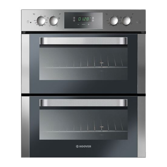 Hoover HO7D3120IN Electric Built under Double Oven Stainless Steel