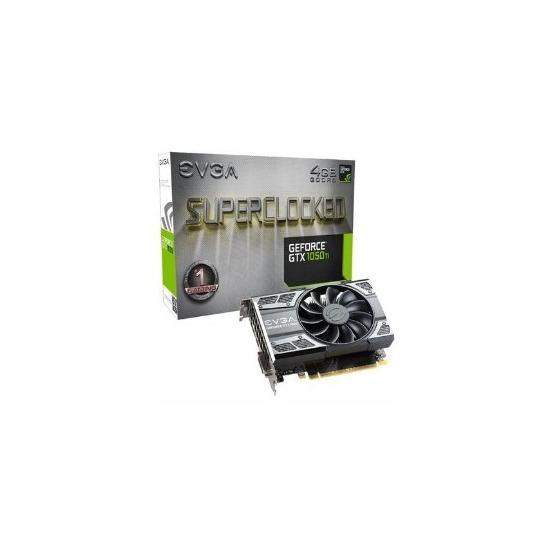 EVGA GeForce GTX 1050 Ti 4GB SC Gaming Graphics Card