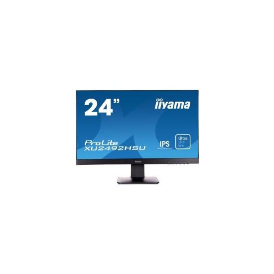 Iiyama ProLite XU2492HSU-B1 24 IPS 1920x1080 16_9 5ms Speakers VGA HDMI Monitor